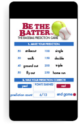 New Be the Batter Baseball Game App Helps Charities