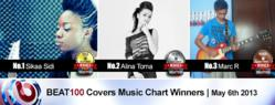 Sikaa Sidi, Alina Toma & Mark R Win The BEAT100 Chart