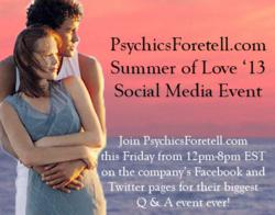 PsychicsForetell.com's Summer Of Love Social Media Event
