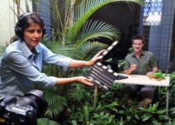 Filming for Costa Rica travel video