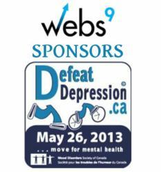 Webs9 Online Marketing Agency sponsors Defeat Depression