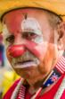 Cattlemen's Days rodeo clown by Allan Ivy