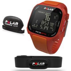 polar rc3 orange, bike, polar cs wind cadence sensor