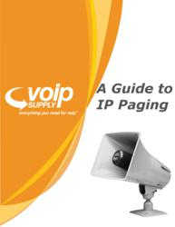 A Guide to IP Paging from VoIP Supply