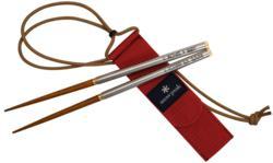 Personalized Snow Peak Travel Chopsticks from EverythingChopsticks.com