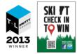 Ski Vermont's Check In to Win Program Receives Travel + Leisure SMITTY...