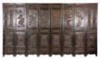 Zitan wood panel screen.