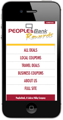 Stage mobile coupons