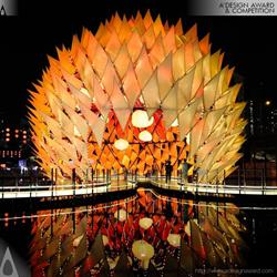 Golden Moon by Laboratory For Explorative Architecture & Design Ltd