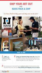 Navis Pack & Ship Sweepstakes - Ship Your Art Out
