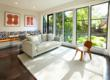 Contemporary family room addition by Jeff King and Company