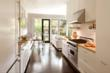 Contemporary kitchen remodel and breakfast nook