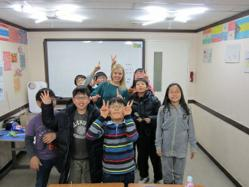 International TEFL Academy graduate teaching English in Korea