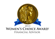 Russ Thornton Receives the Women's Choice Award for Financial Advisors