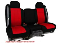 Caltrend custom seat covers in neoprene fabric