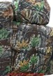 Caltrend custom seat covers in camo fabric. Map pockets and headrest covers are included.