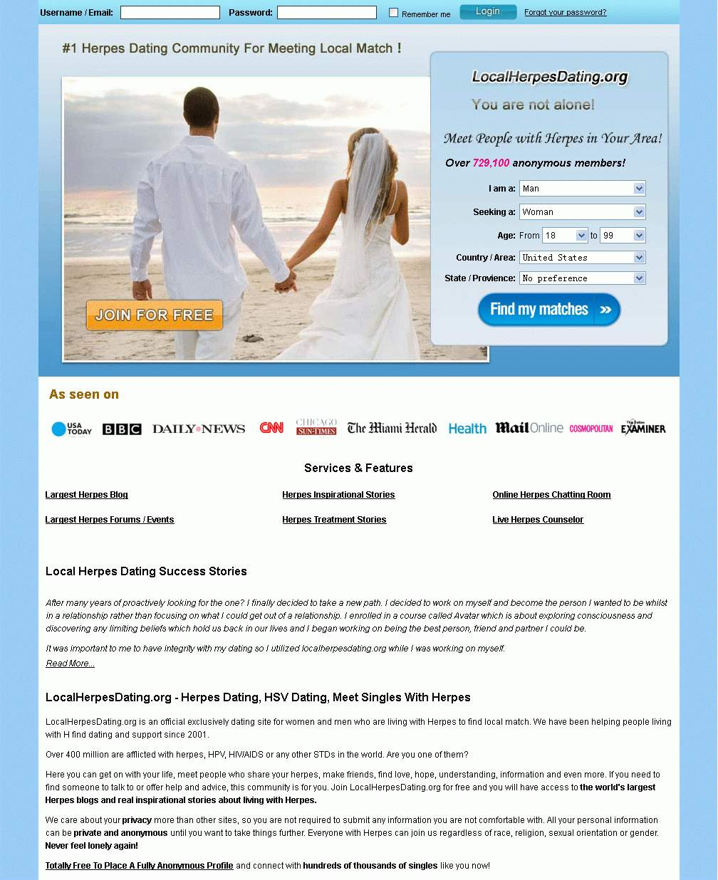 Herpes dating sites htm