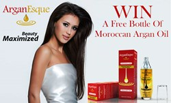 ArganEsque Moroccan Argan Oil Giveaway Promotion