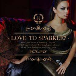 NICOLI - Love to Sparkle? Competition on Facebook - www.facebook.com/nicolishoes