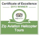 Certificate of Excellence 2013 Winner, Zip Aviation
