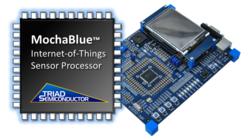 Triad Semiconductor MochaBlue and TSX1001 Eval board
