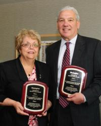 Humility of Mary Health Partners; Center of Distinction Award; Healogics; St. Joseph Health Center; St. Elizabeth Boardman Health Center