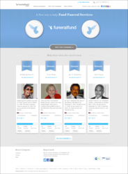 funeralfund.com homepage