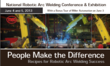 Milwaukee, WI is hosting the National Robotic Arc Welding Conference...