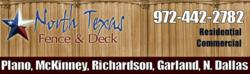 Repair, stain, paint and add additions to fences and decks in the Garland, TX
