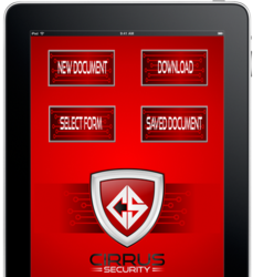 Cirrus Security App home
