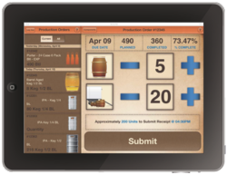 Brewery Software Mobile App