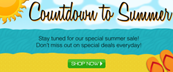 TheBeautyPlace.com will start a countdown to summer sale on June12th to get you summer ready