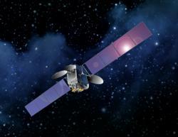 Drawing of AsiaSat 8 Satellite