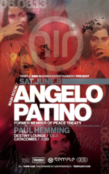 Angelo Patino is coming to Temple in San Francisco for his first-ever solo performance