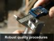 ISO quality procedures