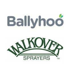 Ballyhoo/Walkover Sprayers Logos