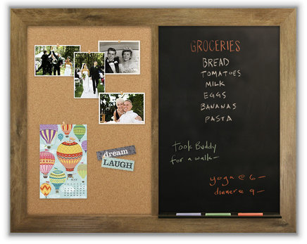 office cork boards. Combination Cork Board And Chalk Office Boards