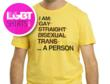 I'm a person T-shirt from www.LgbtShirts.com