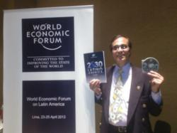 José Luis Cordeiro at the WEF for Latin America