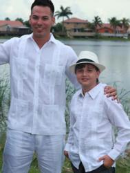 Cuban Guayabera Shirt for Men