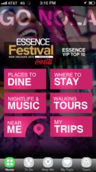 Essence Festival on GoNOLA App