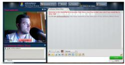 A look at the layout of the SportsRants Chat Rooms Feature