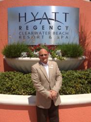 Hyatt Regency Clearwater Beach's Resort and Spa's Chief Concierge, Gary Hidu