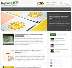 The Paper Blog