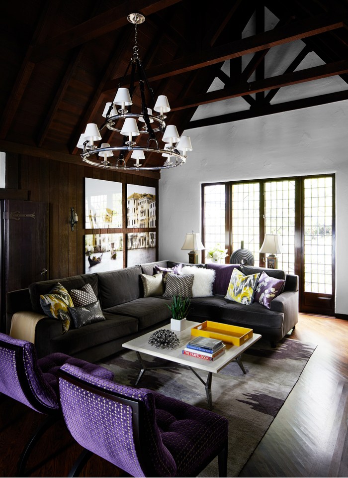 Kristina Wolf Design Puts Modern Spin On Cozy Tudor In