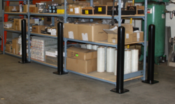 Bolt-down bollards are economical and can be used in a wide variety of applcations to communicate intended routes and protect valuable equipment.