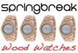 Ending child hunger Springbreak wood watch