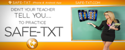 Miss. Stacy Says Practice SAFE-TXT