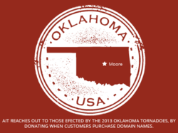 AIT Web Hosting Reaches Out To Victims of the Oklahoma Tornadoes