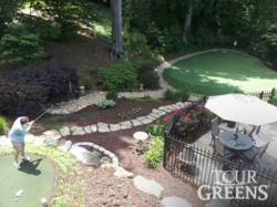 Tour Green's Backyard Golf Course
